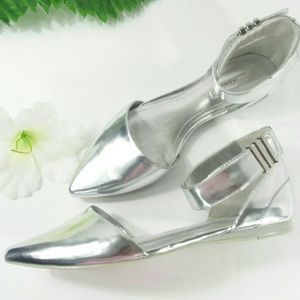 COPY - COPY - BCBGeneration Silver POINTED TOE AN…